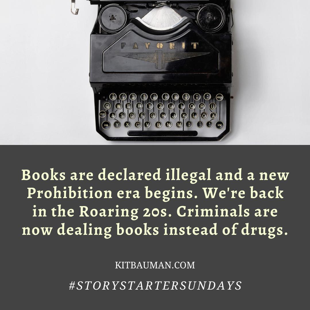 #StoryStarterSundays